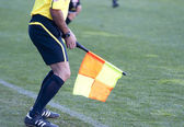Referee linesman — Stock Photo