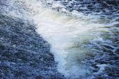 Agua que hace espuma — Foto de Stock