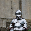 Knight in armour — Stock Photo