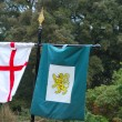 Stock Photo: Heraldic Flags