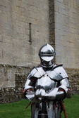 Knight in armour — Stockfoto