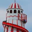 Old fashioned helter skelter — Stock Photo