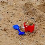 Seaside  bucket and spade — Stock Photo #10667488