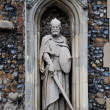 Stock Photo: Stone church statue