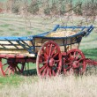 Hay wagon — Stock Photo