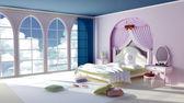 Princess room — Stock Photo