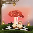 Enchanted nature series - wonderland background — Stockfoto #10453110