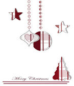 Original christmas composition — Stock Vector