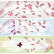 Set of spring banners — Stock Vector #8798110
