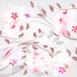 Springtime background - Stock Vector