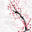 Cherry blossom branch — Stock Vector #9347214