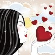 I give you my love — Imagen vectorial