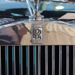 Logos of Classic car Rolls Royce Corniche display at Thailand In — Stock Photo