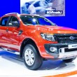 Stock Photo: Ford Ranger on Display at Thailand International Motor Expo 2011