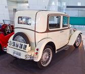 Eski model araba austin seven görüntülemek, tayland uluslararası motor — Stok fotoğraf