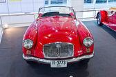 Classic car MGA display at Thailand International motor expo 201 — Stock Photo