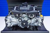 Subaru Boxer Engine 2.0 Litre on Display at Thailand Internation — Stock Photo