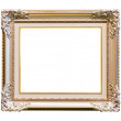Frame isolated with clipping path — Stock Photo