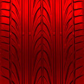 Red tire texture — Stock Photo