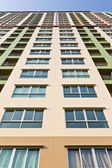Colorful high building — Stock Photo