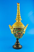 Ancient thai style mask — Stock Photo