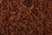 Chocolate escuro ralado — Foto Stock