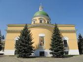 莫斯科。丹尼洛夫修道院。troitskiy 大教堂. — 图库照片
