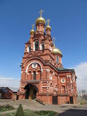 Russia, Moscow. Former Alexius monastery. Church of All Saints. — Stock Photo