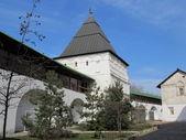 Moscow. Novospassky monastery stavropigial′nyj. Tower. — Stock Photo