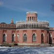 "Moscow. Museum - reserve ""Tsaritsyno"". Third Kavalerskiy housing. — Stock Photo #10415377"