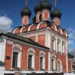 Moscow. Highly Petrovsky Monastery. The temple in honor of Our Lady Mother Bogoliubsk. — Stock Photo