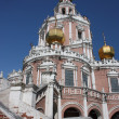 Russia, Moscow. Church Holy Virgin Protection. — 图库照片