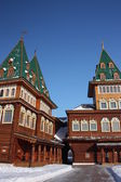 莫斯科。在地产 kolomenskoe 恢复的宫. — 图库照片