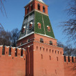 Stock Photo: Moscow. Kremlin wall. 1st Bezimyannaytower.