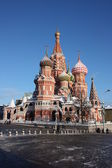 Temple - museum Pokrovskiy is cathedral (St. Basil's cathedral). — Stock Photo
