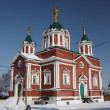 Russia, Kolomna. The Cathedral of Holy Cross — Stock Photo