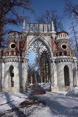 "Moscow. Museum ""Tsaritsyno"". Grape gate. — Stockfoto"