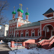 Постер, плакат: Moscow Highly Petrovsky Monastery Temple of Saint Sergius