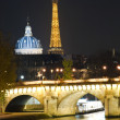 Foto Stock: Charm of Paris at night