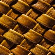 Royalty-Free Stock Photo: Wicker natural leather background