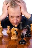 チェスをする人 — ストック写真