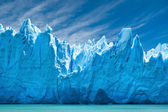 Perito moreno glaciären, patagonien, argentina. — Stockfoto