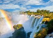 伊瓜苏瀑布,自然的新七大奇观之一。阿根廷. — 图库照片