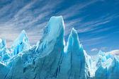 Perito moreno buzulu, arjantin. — Stok fotoğraf