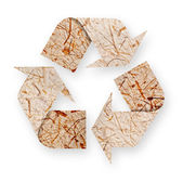 Recycled paper arrows. — Stock Photo