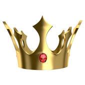 Golden crown — Zdjęcie stockowe