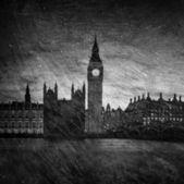 Büyük Millet Meclisi, Londra - İngiltere evler — Stok fotoğraf