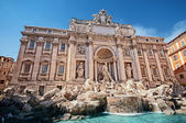 Trevi Fountain, Rome - Italy — Stock Photo