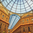 The Galleria Vittorio Emanuele II, Milan - Italy — Stock Photo #8411621