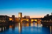Castelvecchio, Verona - Italy — Stock Photo